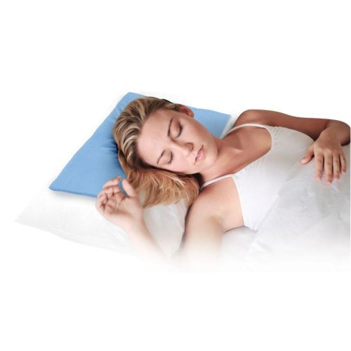 Cooling pillow topper for summer sleeping comfort